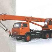 Автокран МКТ-25 (шасси КАМАЗ-55111 6х4) фото