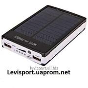 Зарядная батарея Power Bank Solar 15000ma - зарядка для телефона фото