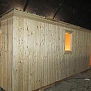 Бытовка деревянная с доставкой фото