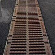 Решетка Штампованная Стальная Оцинкованная 1000 Х 158 Х 22 Dn-100 фото
