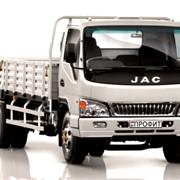 Автомобиль грузовой JAC HFC 1040K Профит с бортовой платформой фото