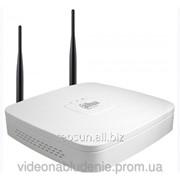 4-канальный сетевой видеорегистратор Dahua DH-NVR4104-W (wi-fi) фото