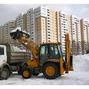Механизированная и ручная уборка, вывоз снега фото