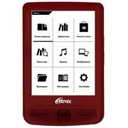Электронная книга Ritmix RBK-200 red фото