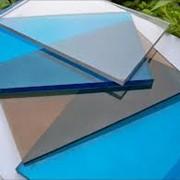 Монолитный поликарбонат фото