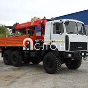 Бортовой МАЗ 6317F9 с КМУ Palfinger IT-150 фото