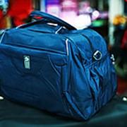 Спортивная дорожная сумка 1316L синяя фото