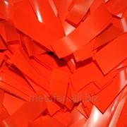 Конфетти, метафан оранжевый фото