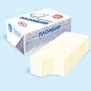 Мороженое Пломбир ванильный 12% фото