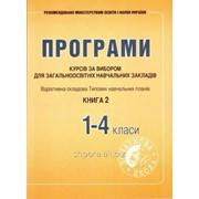 Програми курсів за вибором для ЗНЗ. Варіативна складова Типових навчальних планів 1-4 класи Книга 2 фото