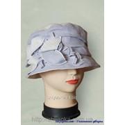Шляпа тканевая с оригинальным украшением 26/33-2 фото