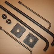 Изготовление фундаментных болтов по ГОСТу 24379.1-80, закладных деталей, нестандартного крепежа по чертежам. фото