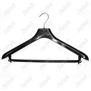 Вешалка универсальная для пальто и костюмов, L=45см, ширина плеча 6см, С-040 фото