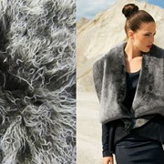 Натуральный мех овчина Романовской породы фото