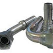 Фитинг BSP для производства РВД с коническим ниппелем под ответный штуцер 600 фото