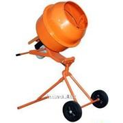 Бетономешалка Кентавр БМ-140ПВ Оранжевая фото
