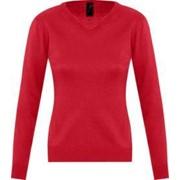 Свитер женский GALAXY WOMEN красный, размер S фото