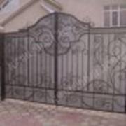 Ворота кованые, цена за 1 кв.м. фото