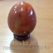 Сувенир Яйцо из сардоникса фото