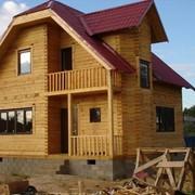 Коттедж деревянный фото