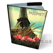 Обложка 01-01_64 для паспорта Кожа фото