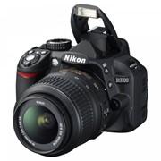 Фотоаппарат Nikon D3100 Kit 18-55VR черная фото