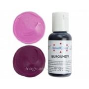 Краситель гелевый AmeriColor Burgandy 21 г (цвет 118) фото