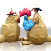 Аренда и прокат костюмов сумо, водных шаров, родео фото