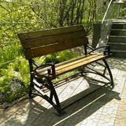 Мебель кованная уличная фото