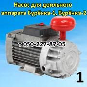 Насос вакуумный с двигателем для доильного апарата фото