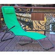 Шезлонг Dolcevita 147х62х95 см Зеленый фото