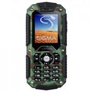 Мобильный телефон Sigma X-treme IT67 Dual Sim Khaki (4827798283233) фото