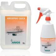 Средство для дезинфекции поверхностей и изделий медицинского назначения Аниоспрей квик (Aniospray quick) фото