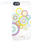 Чехлы Luardi Snap-on Decorative Back Covers для iPhone 5/5s (Circles - White) фото