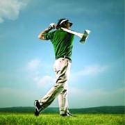 Урок гольфа фото
