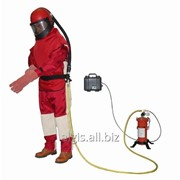 Комбинезон пескоструйщика (дробеструйщика) Clemco костюм клемко фото