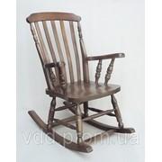 Деревянное кресло-качалка кресло-качалка орех фото