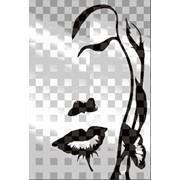 Обработка пескоструйная на 2 стекло артикул 102-11 фото