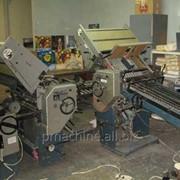 Brehmer Multieffect 5056/3 RSA б/у 1989г - фальцевальная машина фото