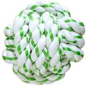 Игрушка для собак CanineClean Мячик из каната 8см с ароматом мяты фото