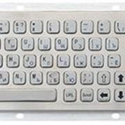 Клавиатура металлическая Metal keyboard фото
