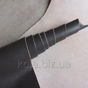 Натуральная кожа для обуви и кожгалантереи серая арт. СК 2034 фото