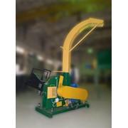 Рубильная машина МР30э с гидроподачей для применения на лесозаготовках фото
