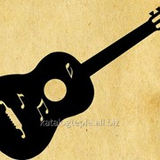 Флюгер на крышу Гитара фото