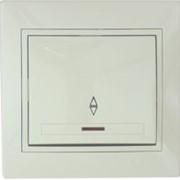 Выключатель проходной с подсветкой 701-0303-114 фото