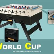 Настольный футбол с жетоноприёмником World Cup фото