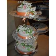 Торт многоярусный фото