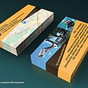 Дизайн визитки фото