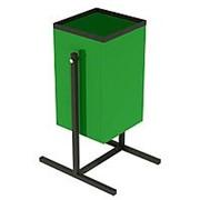 Металлическая урна для мусора 20 литров фото