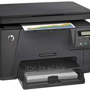 МФУ лазерное HP LaserJet Pro M176n фото